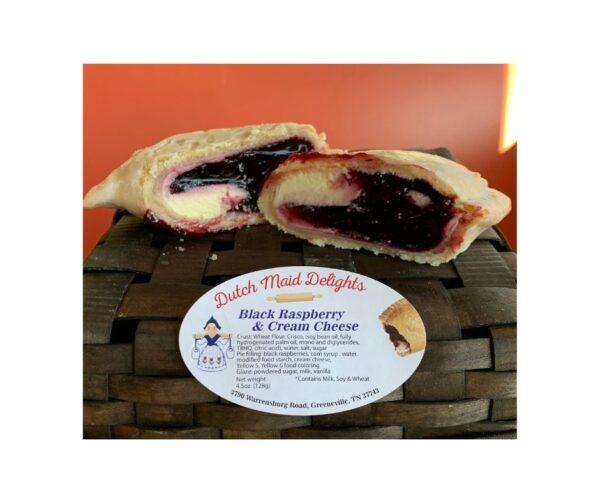 Black Raspberry & Cream Cheese Fried Pie