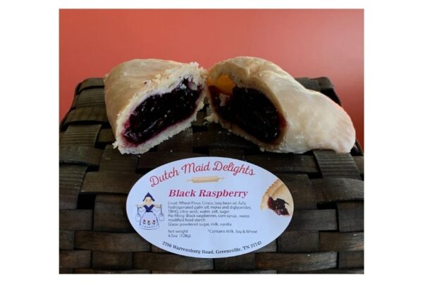 Black Raspberry Fried Pie
