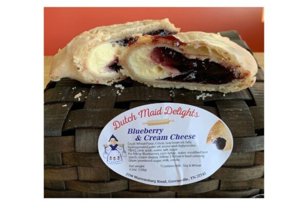 Blueberry and Cream Cheese Fried Pie