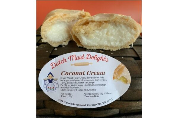 Coconut Cream Fried Pie
