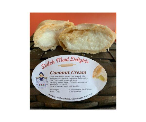 Coconut Cream Fried Pie