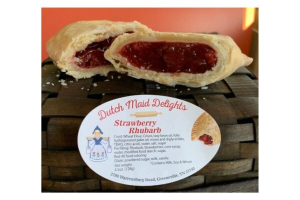 Strawberry Rhubarb Fried Pie