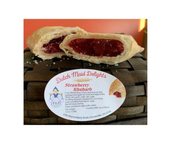 Strawberry Rhubarb Fried Pie