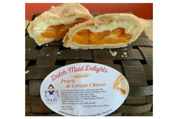 Peach & Cream Cheese Fried Pie