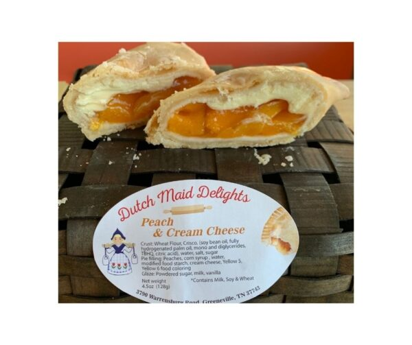 Peach & Cream Cheese Fried Pie